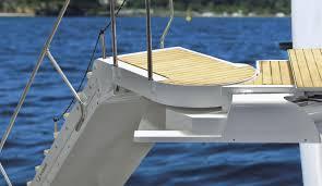 si e rabattable pour échelle pour bateau pour yacht pour ponton escamotable si