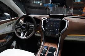 subaru exiga interior subaru ascent concept previews brand u0027s next 3 row crossover