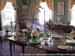mardi gras home decor a mardi gras brunch table setting tablescape