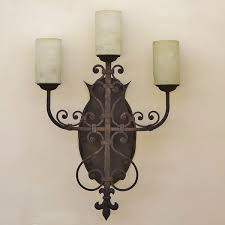 Spanish Revival Chandelier 5193 3 Spanish Revival Spanish Colonial Wall Sconce Spanish