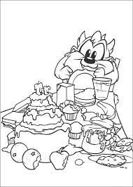 baby taz coloring pages coloring