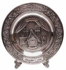 personalized pewter plate personalized wedding plate german things