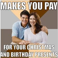 til that you dont have to pay off your christmas birthday presents