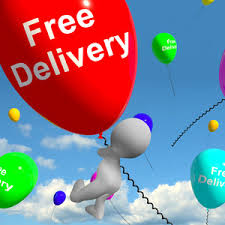 ballons delivery free delivery balloons showing no charge or gratis to deliver