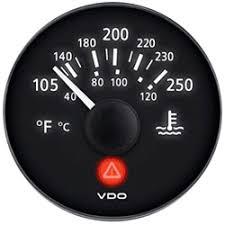 marine viewline onyx water temperature gauge u0026 sender kit