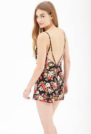 forever 21 rompers and jumpsuits forever 21 open back floral romper where to buy how to wear