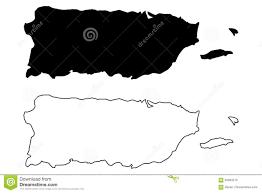 Map Puerto Rico Puerto Rico Map Vector Stock Vector Image 94934215