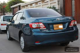 price of toyota corolla 2012 toyota corolla gli automatic 1 6 vvti 2012 for sale in karachi