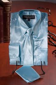boys light blue suit kids boys light blue satin dress shirt combo