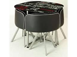 conforama table et chaise ensemble table 4 chaises town vente de ensemble table et chaise