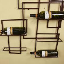 metal wall wine rack bottle holder aliexpress novelty modern 24 2