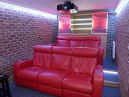 garage conversion to dedicated home cinema kent home cinema