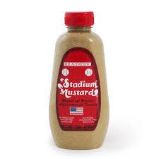 stadium mustard the authentic stadium mustard from cleveland oh shop andrew zimmern