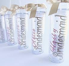 bridesmaid cups bridesmaid tumbler gift bridal acrylic cups with