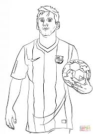 soccer coloring messi pages theotix