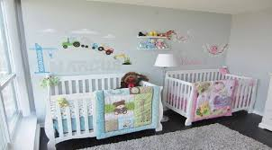 chambre bebe jumeaux idee couleur chambre bebe fille 2 ophrey mobilier chambre bebe