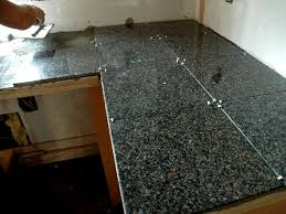 Tile Kitchen Countertop Designs How To Install A Granite Tile Kitchen Countertop Granite Tiles Are
