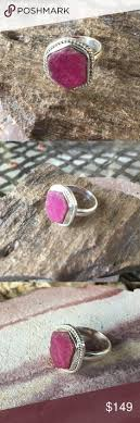 natural rock rings images Rough ruby ring red ruby ring real ruby ring natural ruby jpg