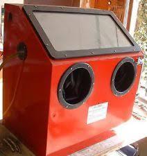 Used Blast Cabinet Blast Cabinet Sandblasters Ebay