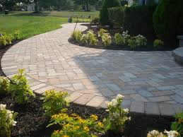 front patio walkways ideas with front steps and walkway