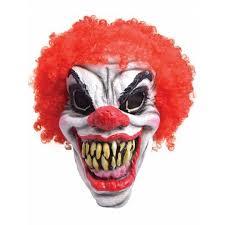 killer clown mask pennywise it clown mask horror scary killer fancy dress