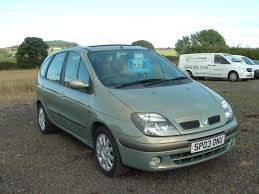 renault megane 2003 used 2003 renault scenic fidji 16v scenic for sale in angus