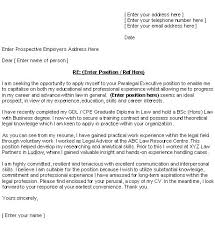 how to structure a covering letter legal cover letter structure