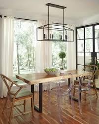 No Chandelier In Dining Room Loft Pendant L Retro American Industrial Black Iron Rectangular