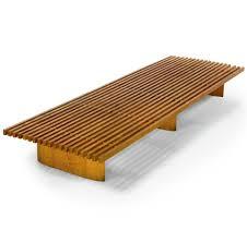 charlotte perriand oak u0027tokyo u0027 bench for galerie steph simon