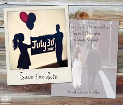 Wedding Save The Dates Polaroid Wedding Save The Date Cards Wedfest