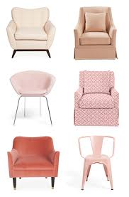 Pale Pink Armchair Emerald Acres Town Homes Blog 12 Pink Chairs That Steal The Show