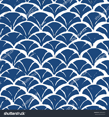 chevron batik indigo seamless pattern shibori stock vector