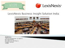 lexisnexis risk solutions india best academic research solution by lexisnexis business insight