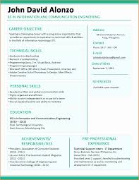 mba application resume format 8 resume skeleton resume cover note