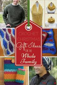25 crochet christmas gift ideas for the whole family