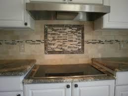 Kitchen Backsplash Ideas With Cream Cabinets Large Tile Kitchen Backsplash Home Decoration Ideas