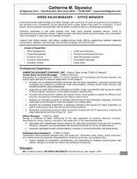 Project Manager Resume Samples Amusing Operations And Sales Manager Resume Template Download Ret