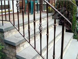 exterior wrought iron stair railing kits e25 verambelles