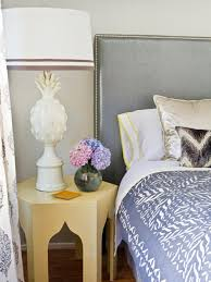 How To Hang Fabric On Walls Without Nails by How To Upholster A No Sew Headboard Hgtv