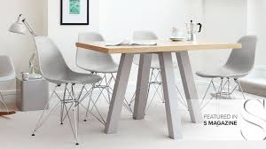 Modern Oak Dining Tables Contemporary Oak Dining Table Yoadvice