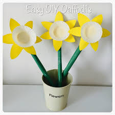 diy paper daffodils crafts for kids daffodils crafts and