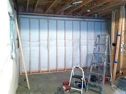 Insulating Basement Walls With Foam Board by Framing Basement Walls How To Build Floating Walls
