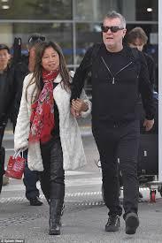 Matt Barnes Wife Sister Jimmy Barnes And Wife Jane Mahoney Arrive In Melbourne Ahead Of