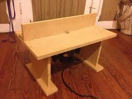 benchtop router table by rjh311 lumberjocks com woodworking