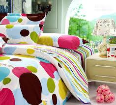 Polka Dot Bed Set Polka Dot Duvet Cover Idearama Co