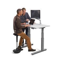 Studio Computer Desk by Standing Adjustable Desk Standing Desk Workstation