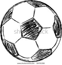 football ball sketches sketch coloring page