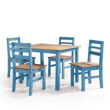 blue dining room table rectangle 4 people blue dining room sets kitchen dining