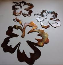 hawaiian wall art wall shelves fresh design hawaiian wall art wonderful hibiscus flower tropical 3 piece settrio