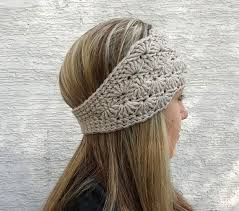 easiest headwrap crochet ear warmer pattern crochet and